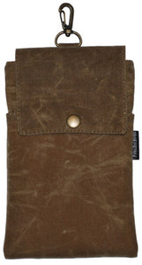 Tan Waxed Canvas Essential Case