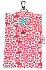 Red & White Damask Twill Essential Case