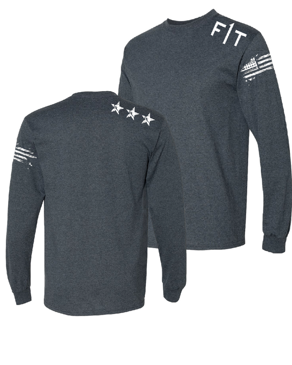 F1T- Men's Long Sleeve - GREY