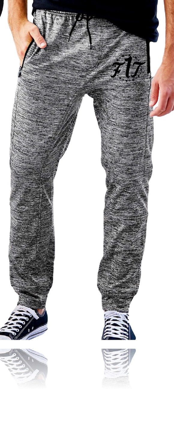F1T Performance Joggers - Heather Charcoal