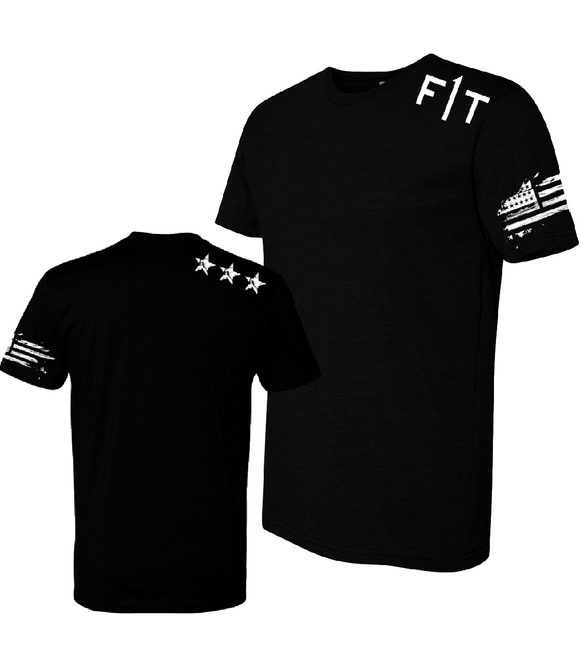 F1T Men's Fitted T-Shirt - BLACK