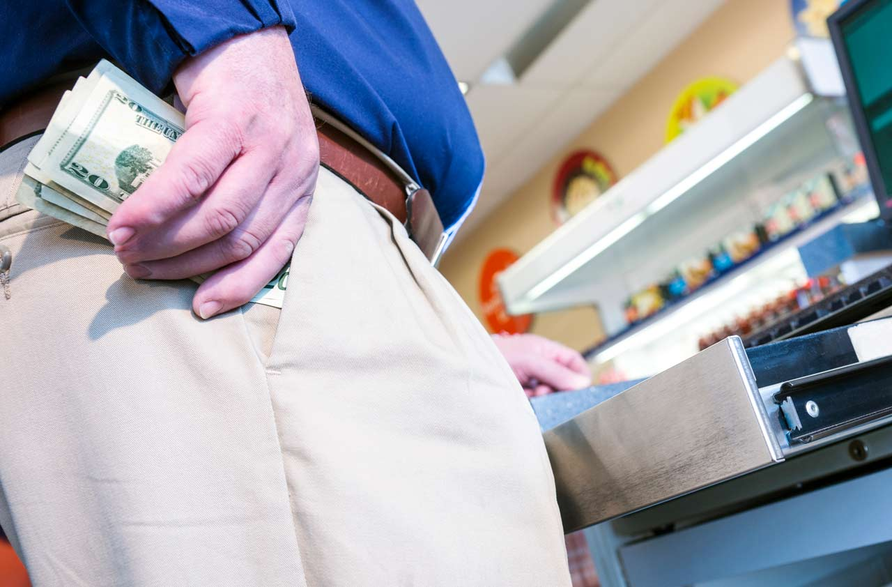 How Common Is it for Cashiers to Steal from the Register?