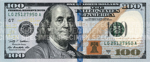 7 Security Features Of The $100 Bill (That You Din't Know About) – Carnation Bill Money Counting ...