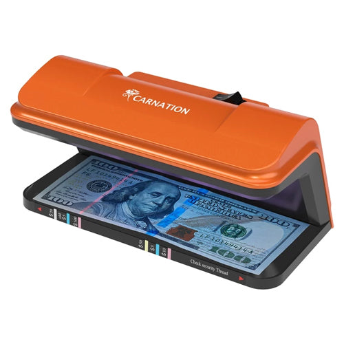 Note Checker uv Torch Portable Small Banknote Bill Detector Denomination Value Counter UV//MG//IR Counterfeit Fake Money Currency Cash Checker Tester
