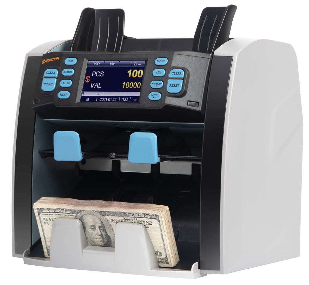CR1500 Mixed Bill Value Counter & Sorter 2 Year Warranty