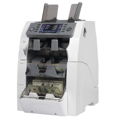 CR2500 3 Pocket Mixed Denomination Currency Counter