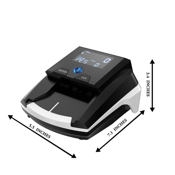CRD12A Automatic Counterfeit Bill Detector with UV MG IR Detection - Bank Grade