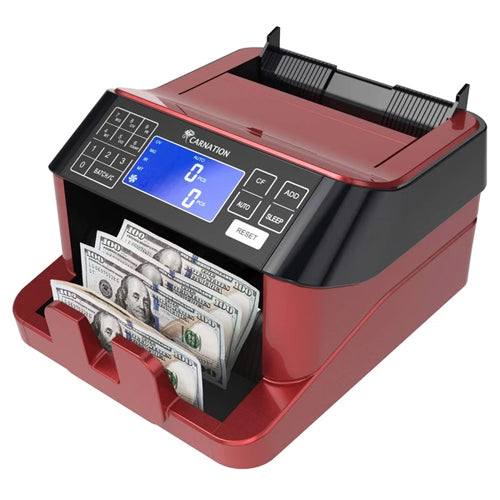CR1800 Carnation Cash Counter with  UV, MG, IR, MT, and Bill Size Detection