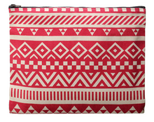 Ideal Carry-All Canvas Day Clutch / Make-Up / Toiletry Bag