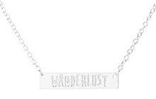 Wanderlust Always! Solid, Bar-Necklace