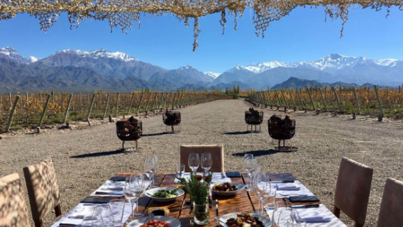 Luxury Tour - Mendoza, Argentina- All-Inclusive April 27th - May 4th, 7 Nights/8 Days