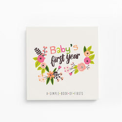 Floral Baby Book