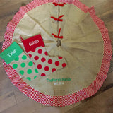 Jute Christmas Tree Skirt
