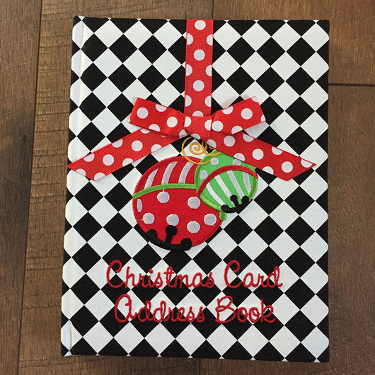 Christmas Card Address Book