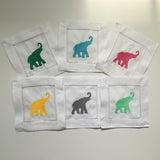 Elephant Cocktail Napkins