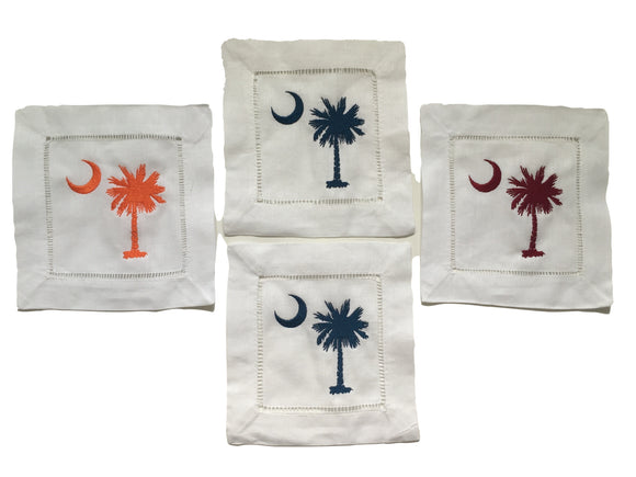 Palmetto Tree Cocktail Napkins