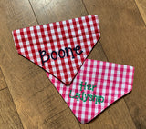Gingham Dog Bandana