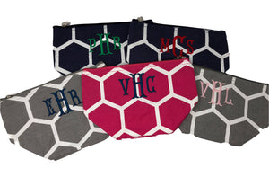 Patterned Cosmetic Bags
