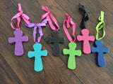Wood Cross Door Hanger/ Ornament