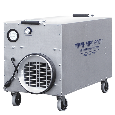 OmniAire OA600V Portable Hepa Negative Air Machine