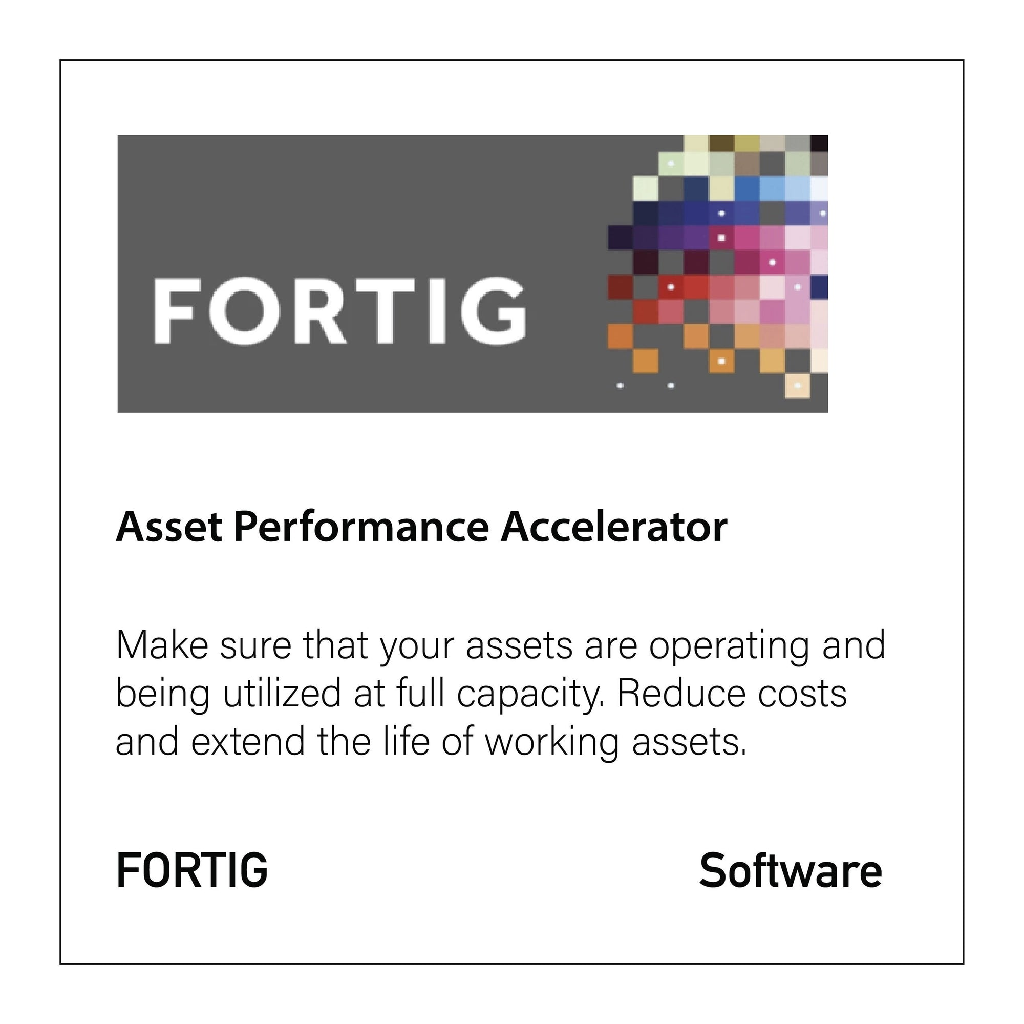 FORTIG Asset Performance Accelerator - CloseReach Ltd