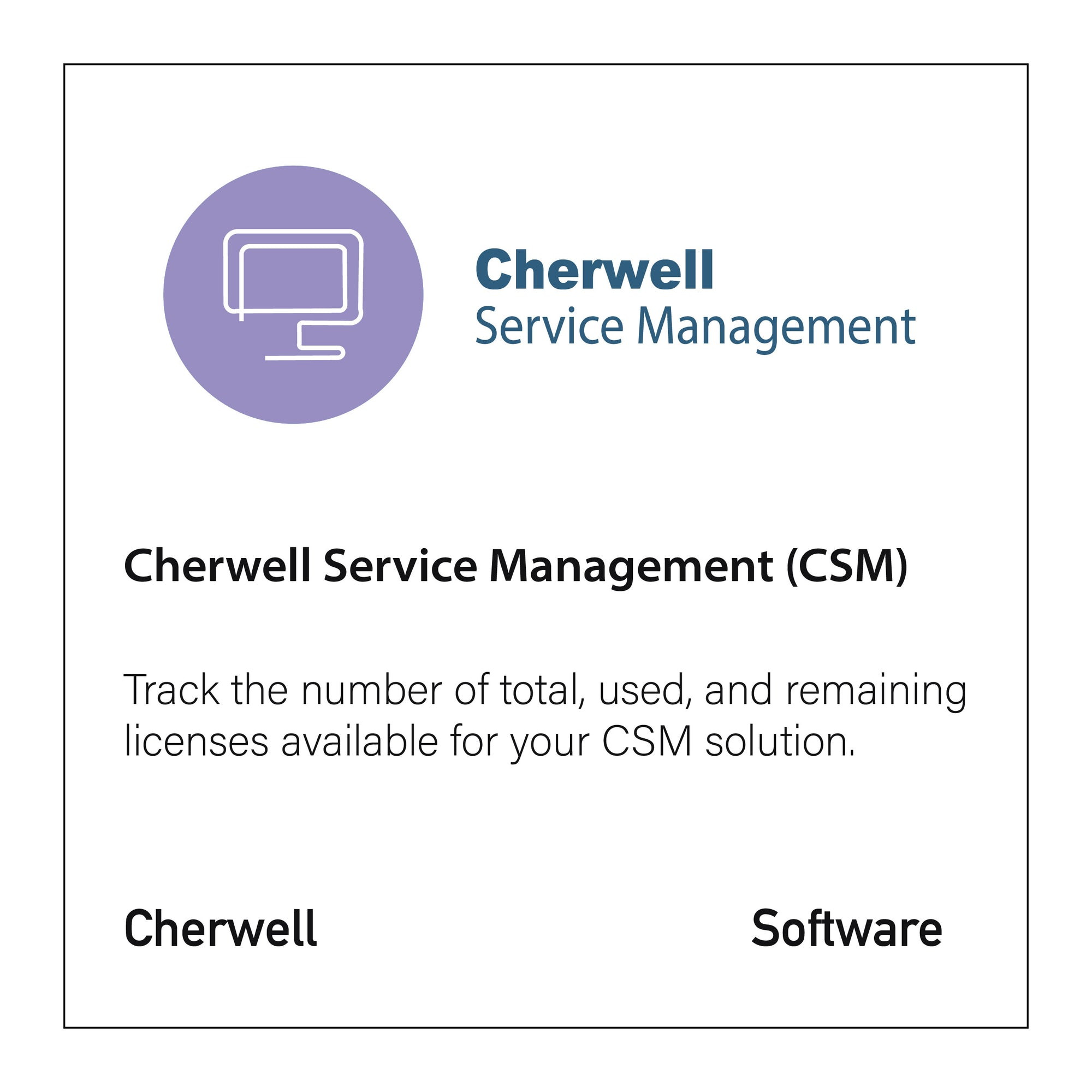 Cherwell Service Management (CSM) - CloseReach Ltd