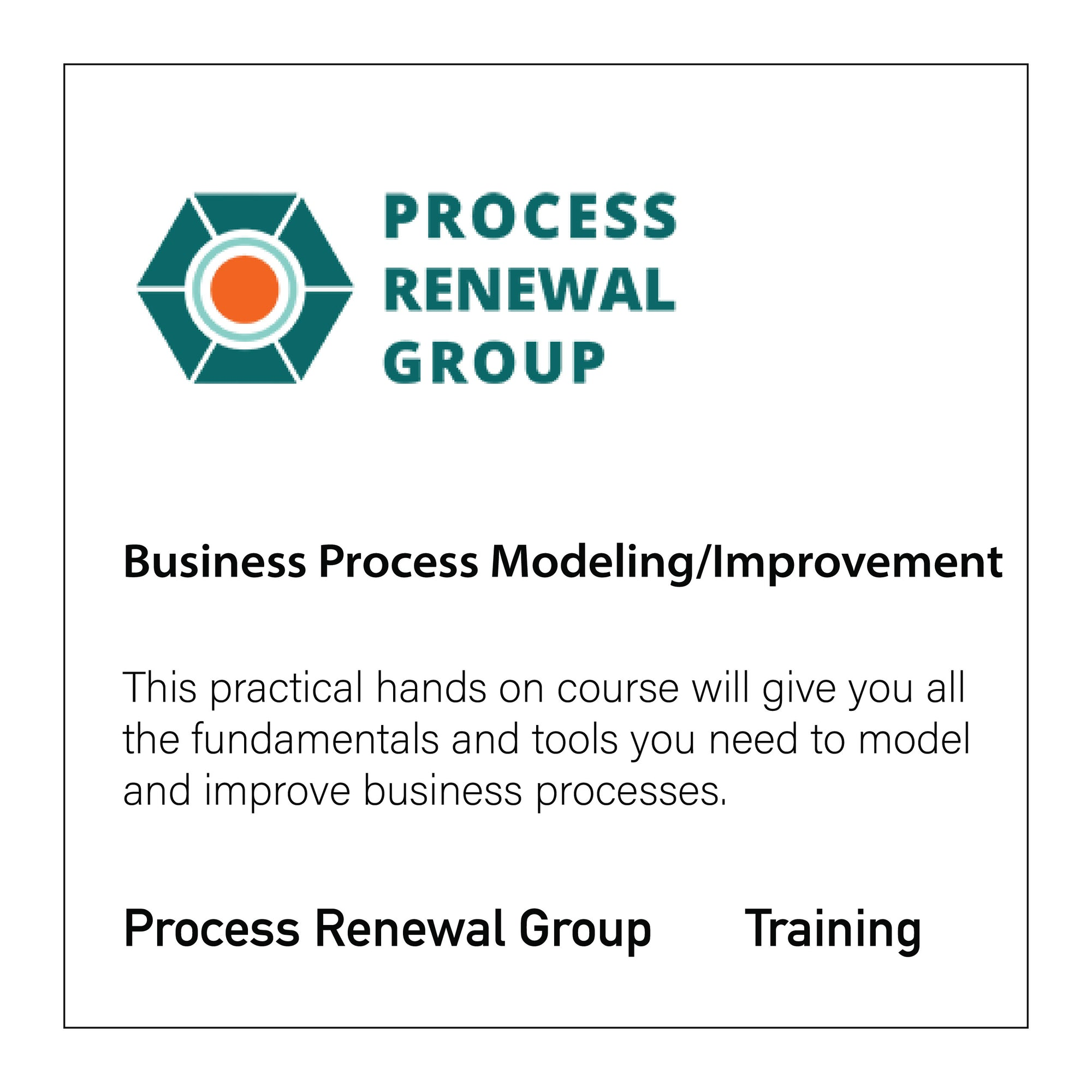 Business Process Modeling and Improvement