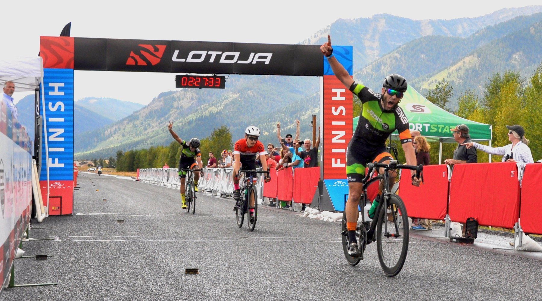 Team Endurance360® Rider Wins LOTOJA, Proves He's Racing Clean