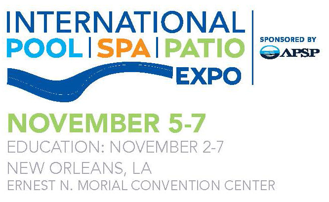 International Pool | Spa | Patio Expo  November 5-7, 2019