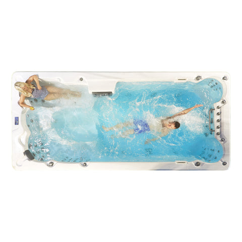 16ft Swim Spa 19HP-Jet 7-Person - XTrainer