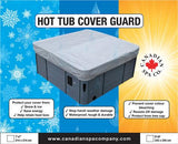 8 FT HOT TUB COVER WEATHER GUARD