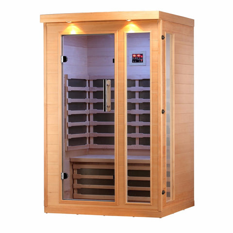 Huron 2 Person Far Infrared Sauna