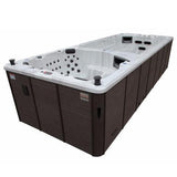 20ft Dual Temperature Swim Spa 15HP-Jet - XSport