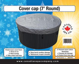 7 FT ROUND HOT TUB COVER WEATHER GUARD