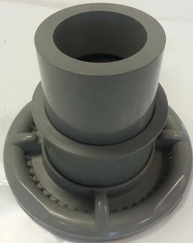 FILTER HOUSING 3X TIER TELESCOPIC WEIR - GREY