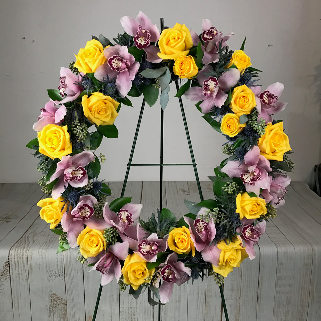 ER-4 Standard Bicolor or Multicolor Wreath