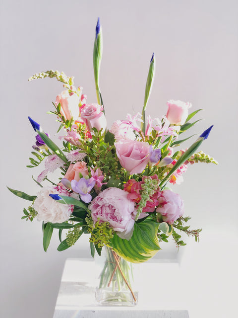 Classic Pink & Purple Arrangement