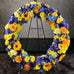 ER-3 Premium Bicolor or Multicolor Wreath