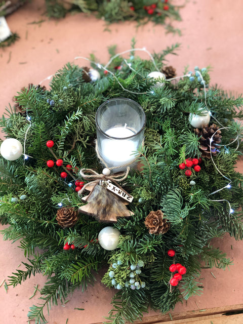 2 in 1 Holiday Wreath/Centerpiece
