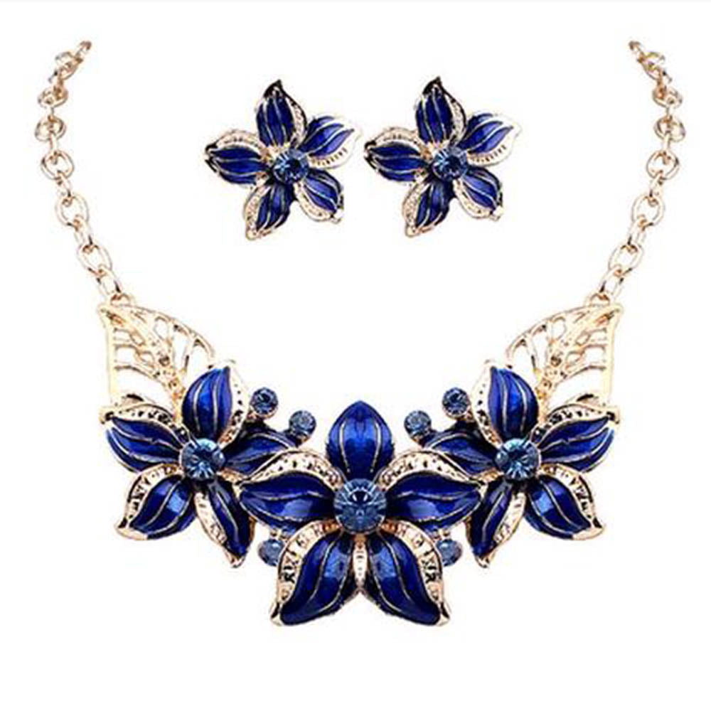 Beautiful Jewelry set necklace earrings for woman with Amazing ...