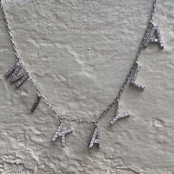 LAUREN CZ CUSTOM NECKLACE