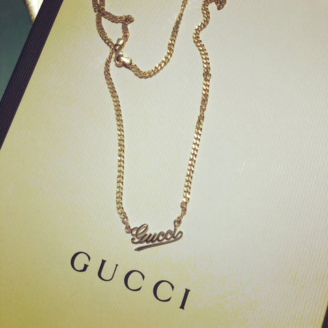 GIGI CURB NECKLACE