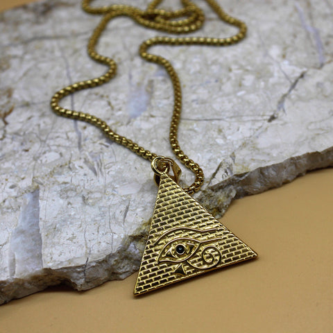 CAMILLE EVIL EYE NECKLACE