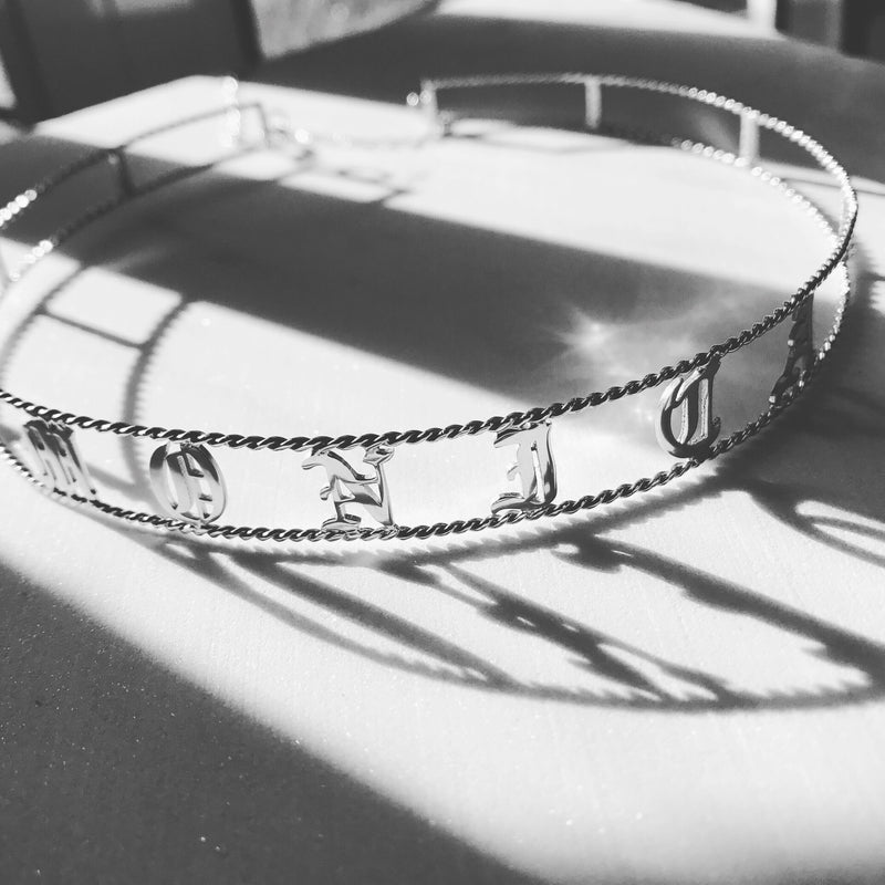 MONICA CUSTOM CUFF CHOKER