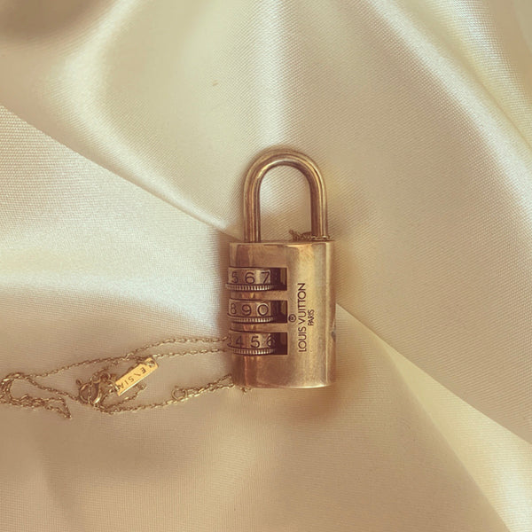 LV COMBINATION LOCK NECKLACE