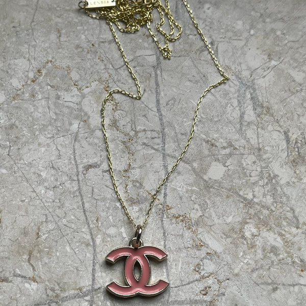 REPURPOSED CC CHARM NECKLACE