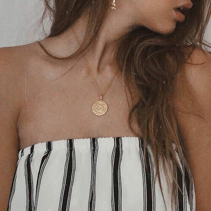 ALYSSA COIN NECKLACE