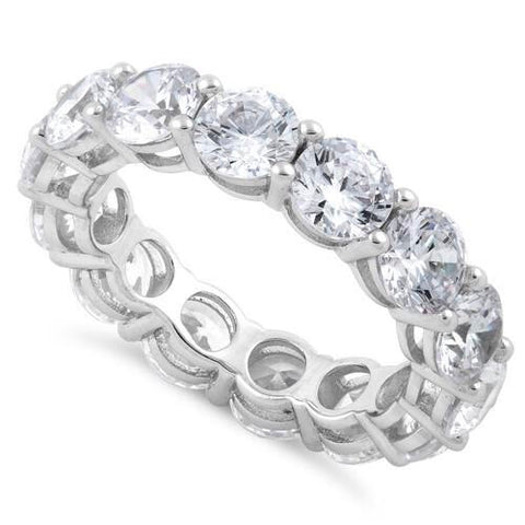 HEATHER CZ ETERNITY BAND
