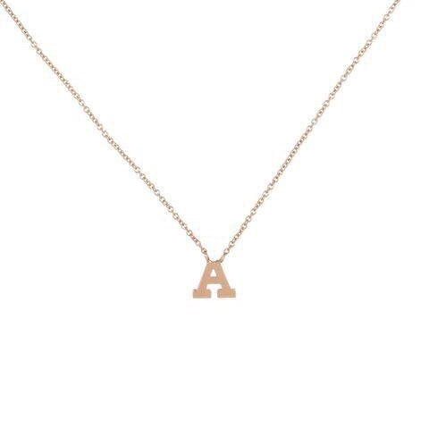 HARPER PETITE DIAMOND INITIAL NECKLACE