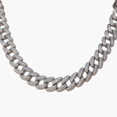ASHLEY THIN CUBAN LINK CHOKER